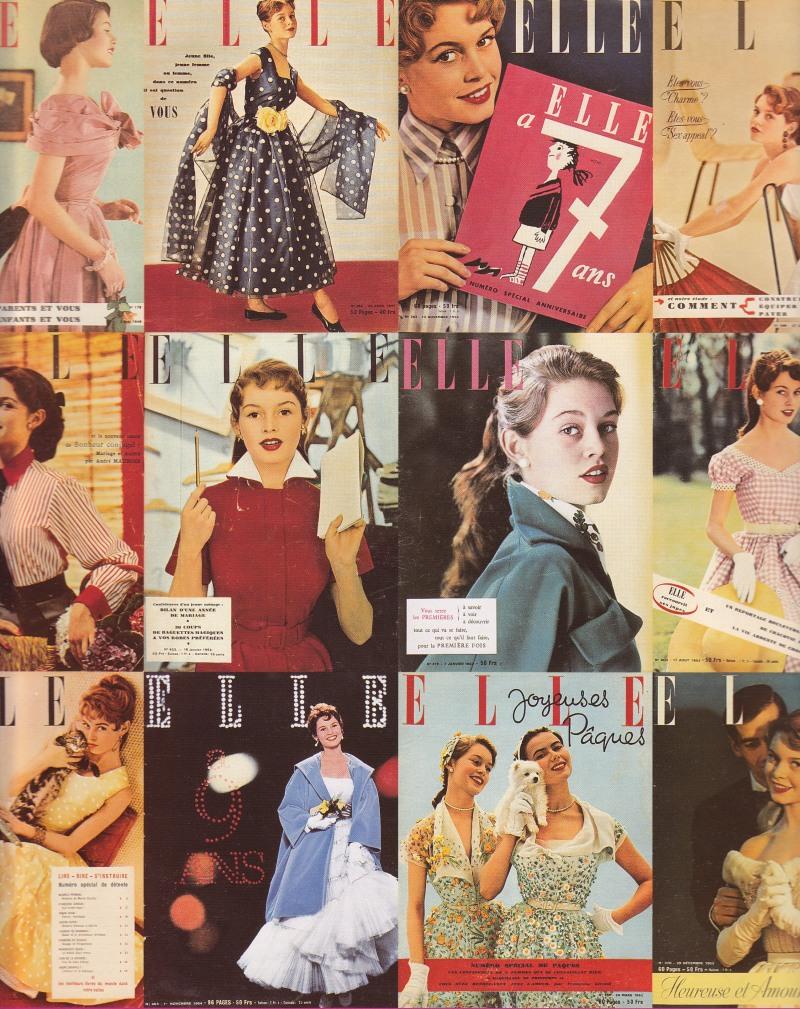 Brigitte Bardot, Elle magazine, modeling