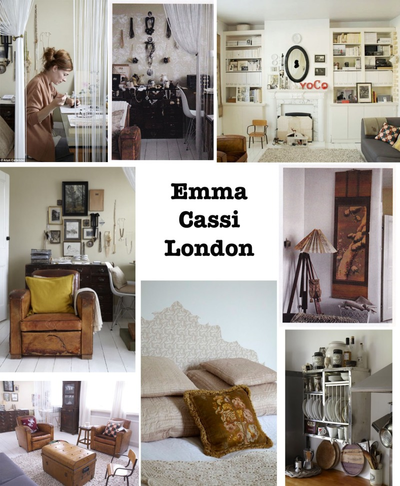 Emma Cassi, Lace maker, Jewellery designer, Home style