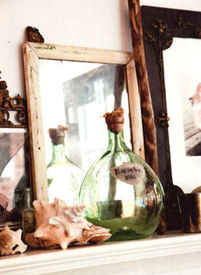 Helena Christensen, at home, the selby