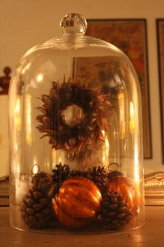 Christmas bell jar