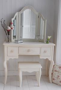 White Cottage Dressing Table, Karen Harrison