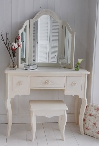 White Cottage Dressing Table, Karen Harrison