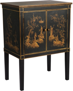 Oka Cabinet, Lacquered cabinet, Laura Resen
