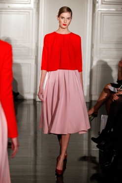 Emilia Wickstead, Red and Pink, Autumn/ Winter 2012
