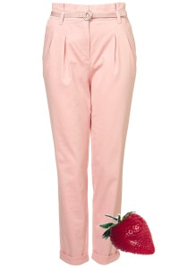 Topshop, Pink Trousers