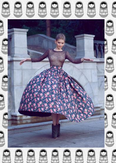Ulyana Sergeenko, Russian Glamour