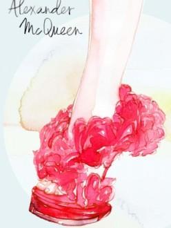 Samantha Hahn, Alexander McQueen Shoes