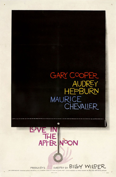 Saul Bass, Love in the Afternoon