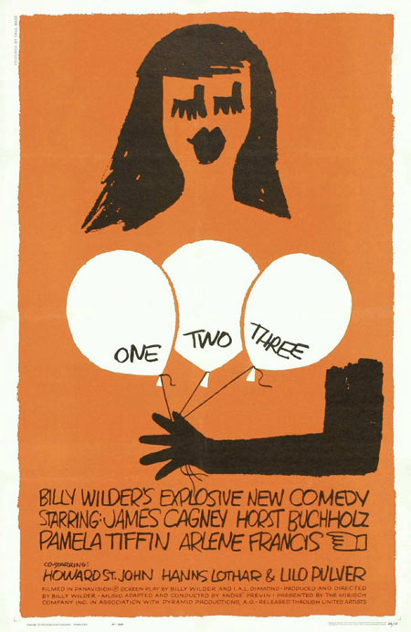 Saul Bass, One Two Three