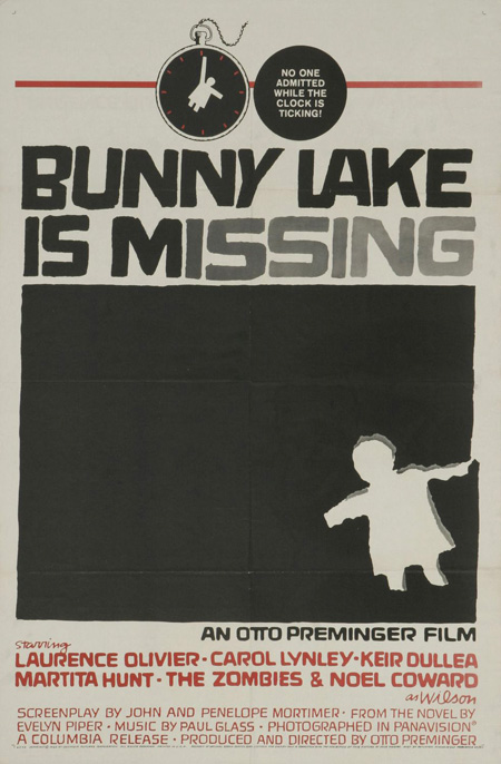 Saul Bass, Bunny Lake is missing