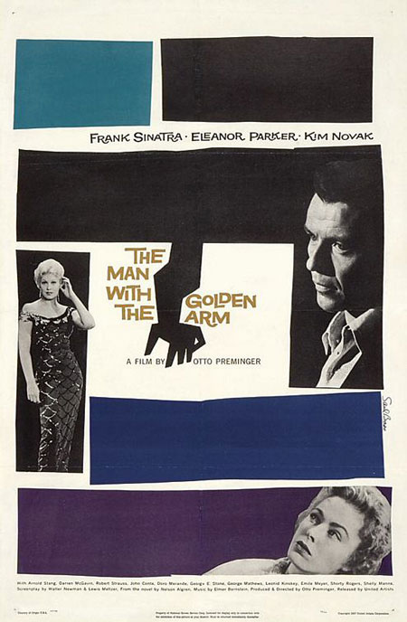 Saul Bass, The Man with the Golden Arm