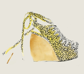 Bernadette Pascua, shoe