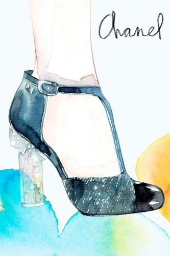 Samantha Hahn, Chanel Shoes