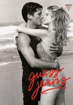 Claudia Schiffer, Guess, 1989, Ellen von Unwerth