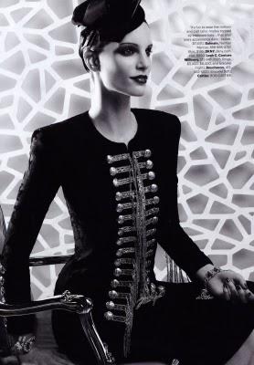 Daisy Fellowes, Karl Lagerfeld, Harpers Bazaar
