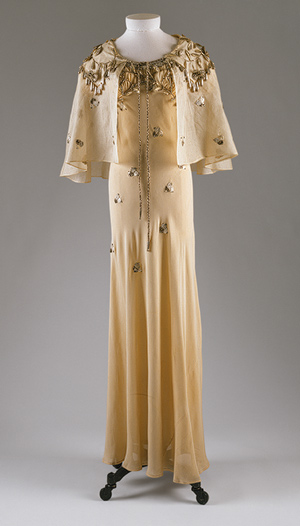 Elsa Schiaparelli dress, Daisy Fellowes
