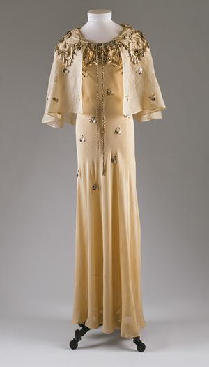 Elsa Schiaparelli dress, Daisy Fellowes