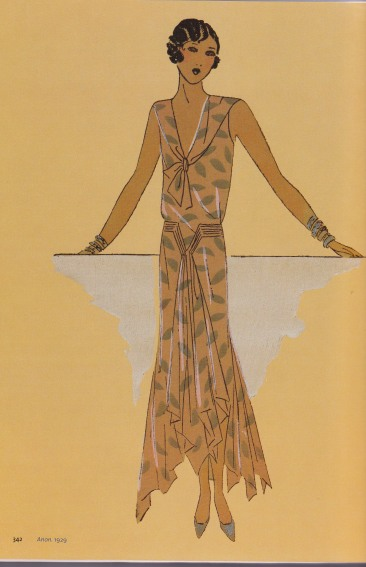 1929 Fashion illustration