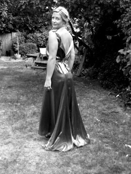 Carolyn Everitt, 1931 dress