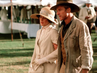 Out of Africa, White outfit