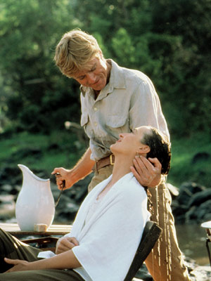 Meryl Streep, Robert Redford, Out of Africa