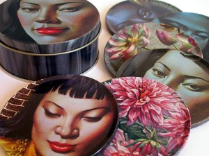 Tretchikoff coasters, wayne hemingway, land of lost content