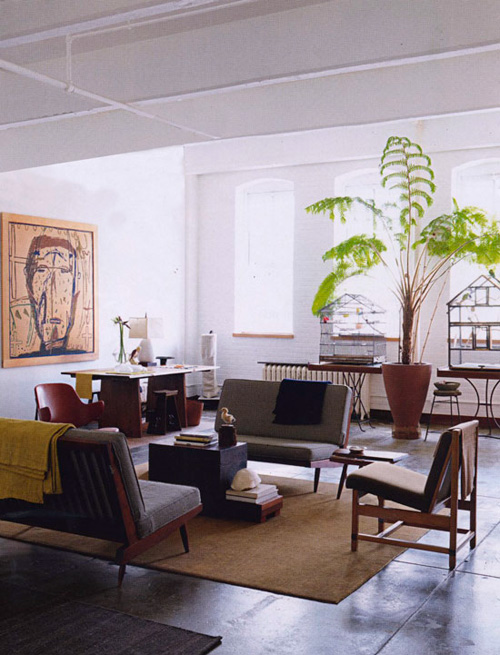 Anita Calero, Elle Decoration, Apartment, Loft, Jonny Valiant
