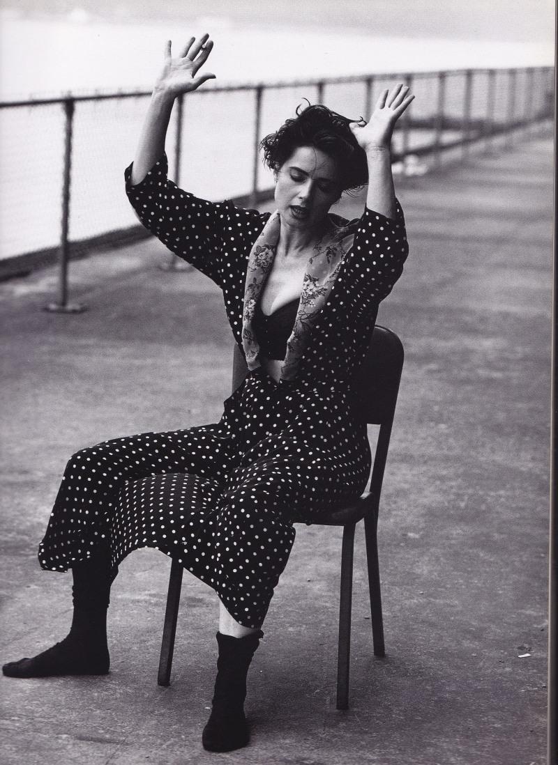 Isabella Rossellini, Dolce & Gabbana, Stephen Meisel