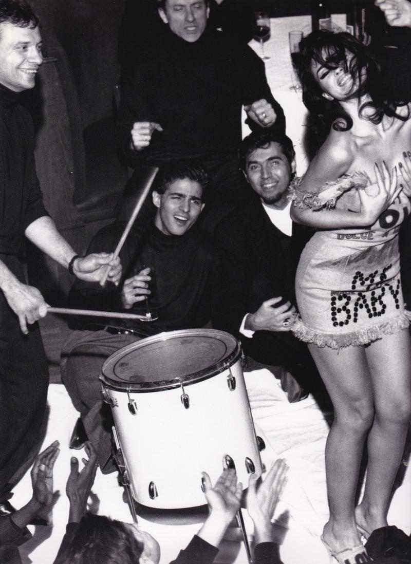 Monica Bellucci, Dolce & Gabbana, dancing, Stephen Meisel