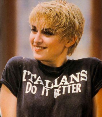Madonna, Italians do it better