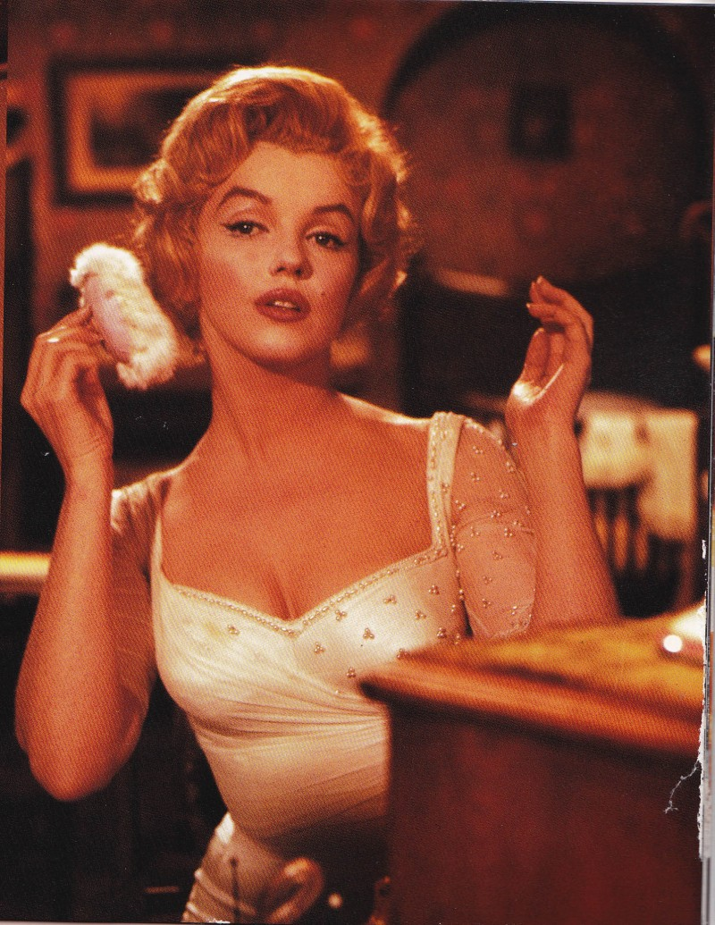 Marilyn Monroe, Prince and the Showgirl, Makeup, highlighter and contours