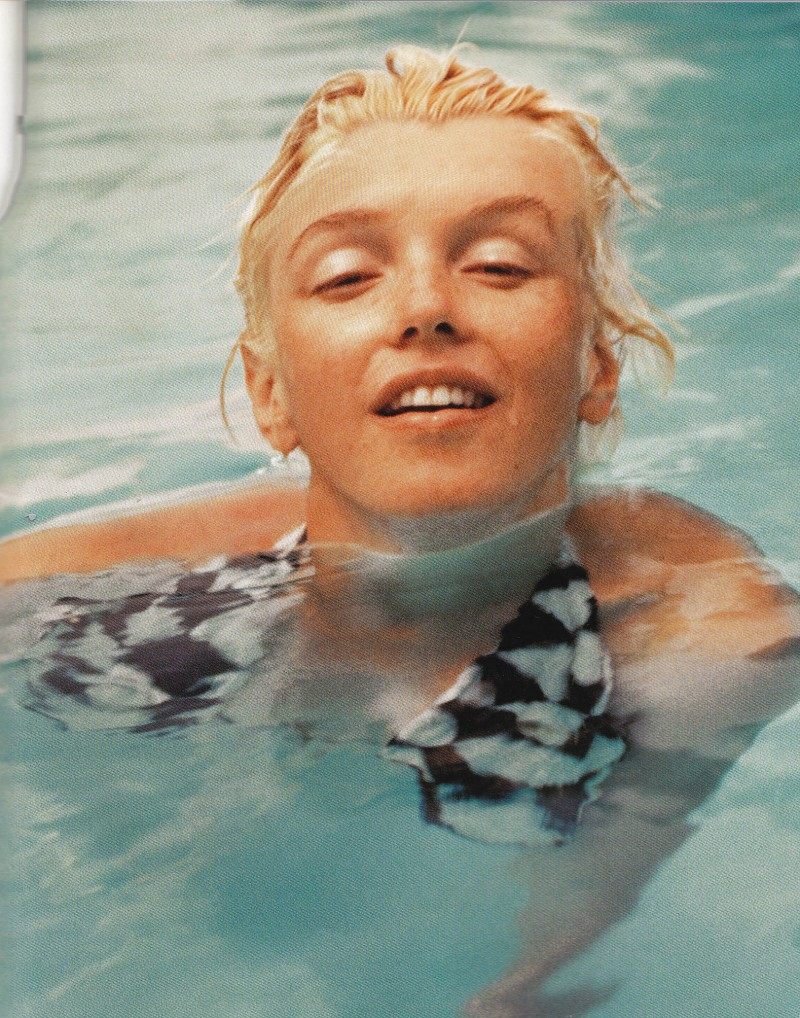 Marilyn Monroe, Milton Greene, No makeup
