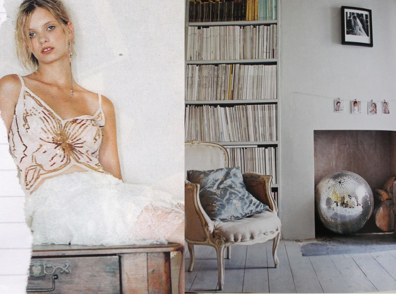 Plastered walls, Disco Ball, Butterfly sequin top