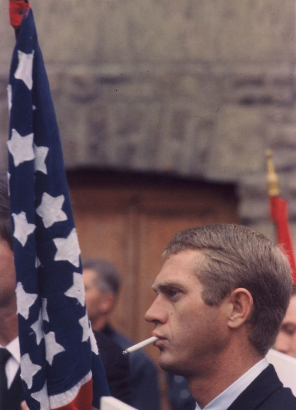 Steve McQueen, American Flag