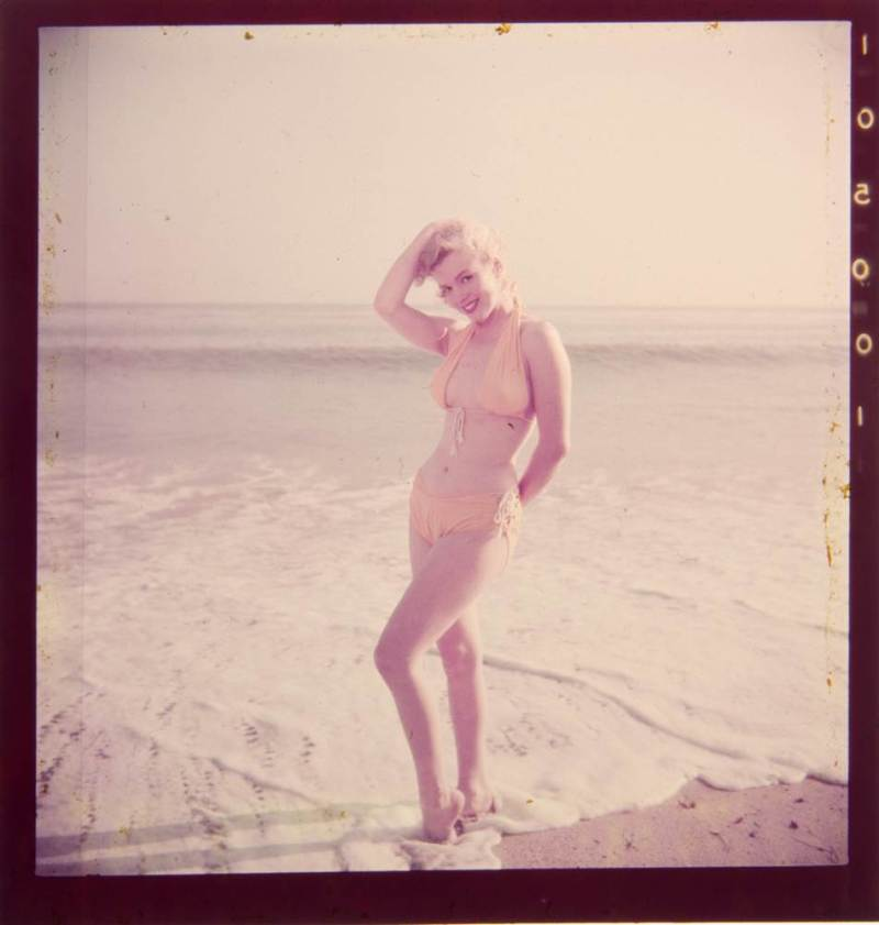 Marilyn Monroe, Whitey Snyder, Yellow Bikini