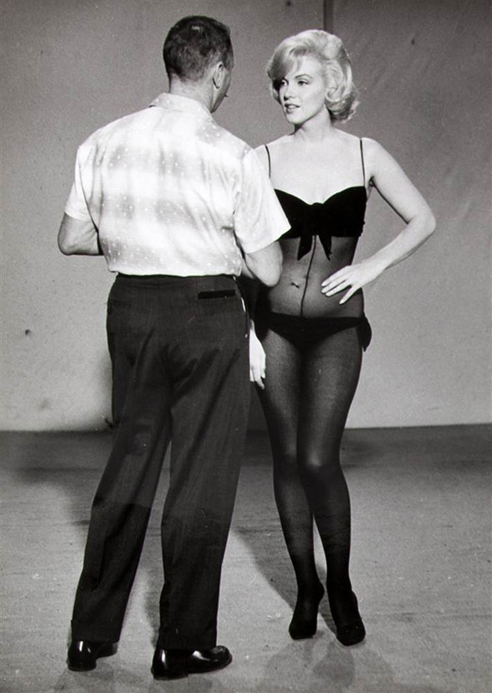 Marilyn Monroe with Whitey Snyder, Let's Make Love