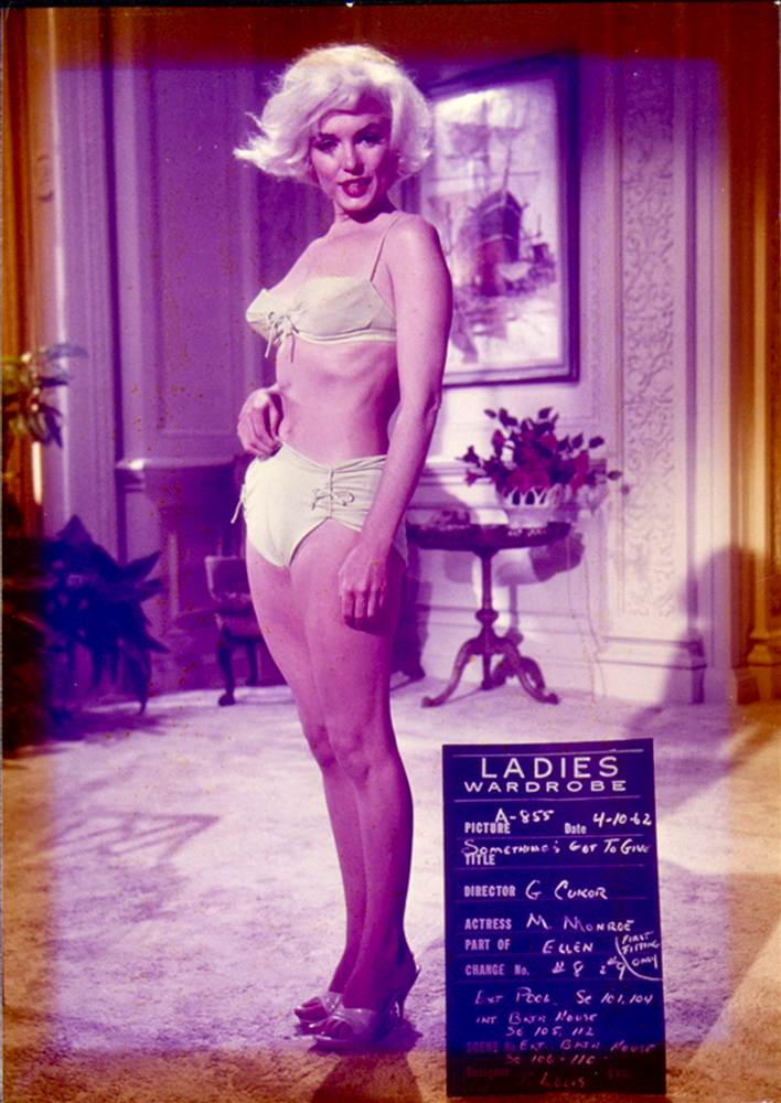 Marilyn Monroe, Whitey Snyder, Something's Gotta Give, white bikini