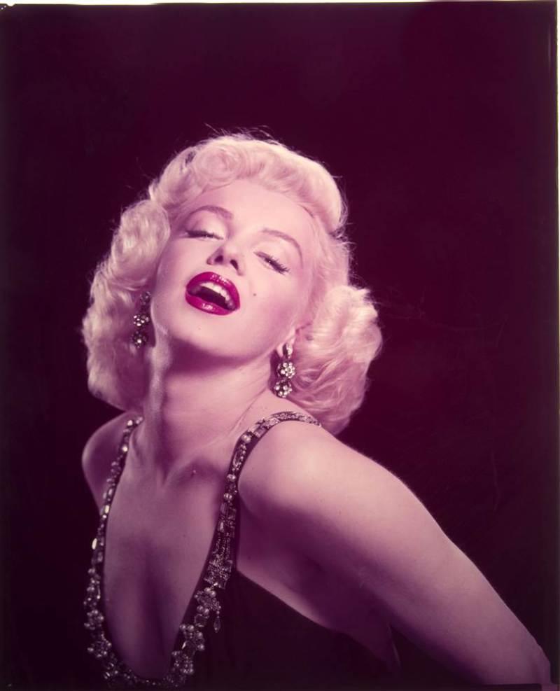 Marilyn Monroe, Black and Gold, Whitey Snyder