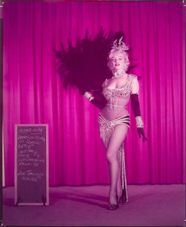 Marilyn Monroe, Whitey Snyder, showgirl costume