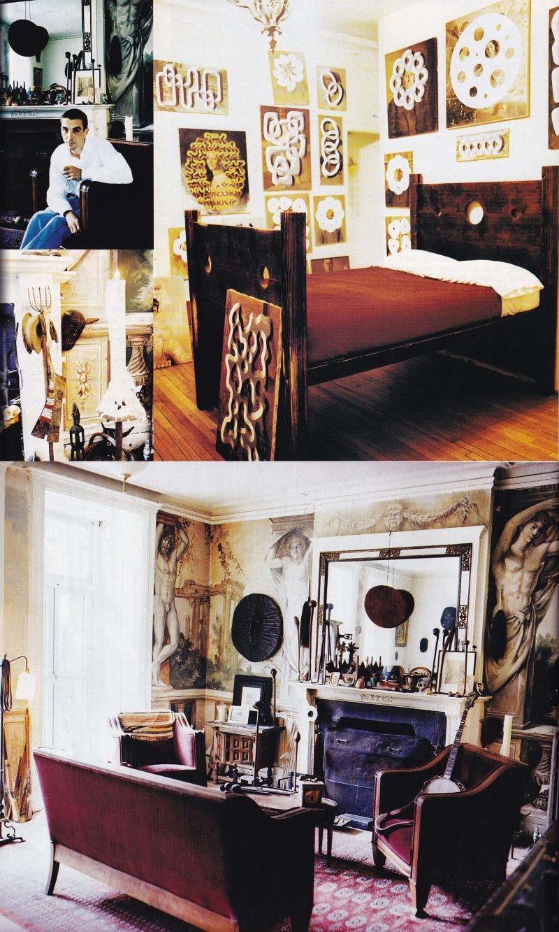 Hotel Chelsea apartment, Peter Schuyff