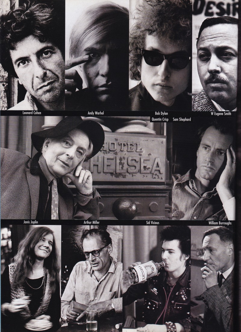 The Hotel Chelsea, celebrities and artists