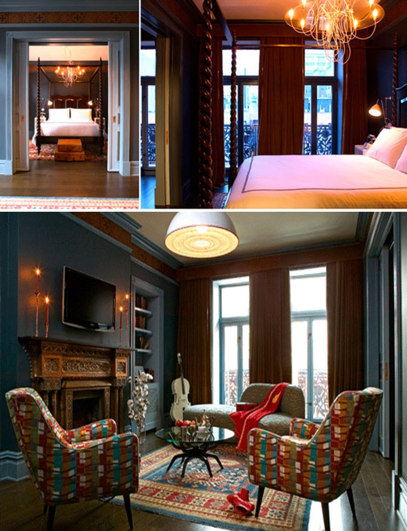 Hotel Chelsea Apartment, Greco Deco