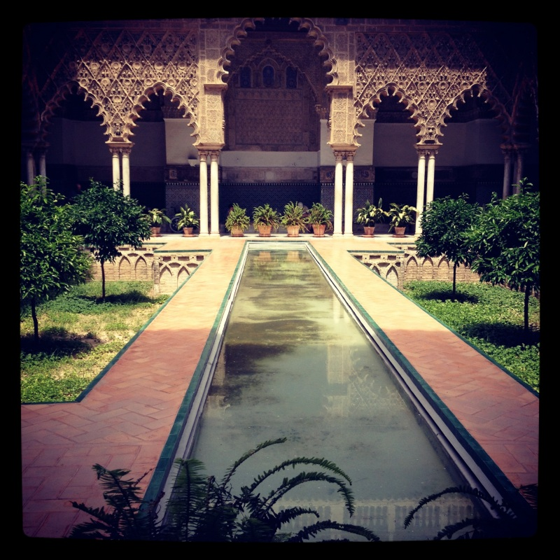 The Alcazar, Seville, Instagram