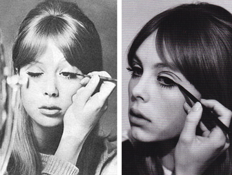 Pattie Boyd, Edie Campbell, Lisa Eldridge, Lula Magazine, 60's makeup