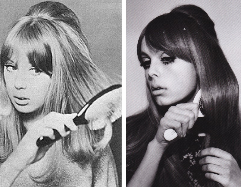 Pattie Boyd, Edie Campbell, Lisa Eldridge, 60's makeup, Lula Magazine