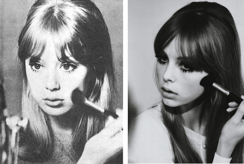 Edie Campbell, Pattie Boyd, 60's makeup, Lisa Eldridge. lula Magazine