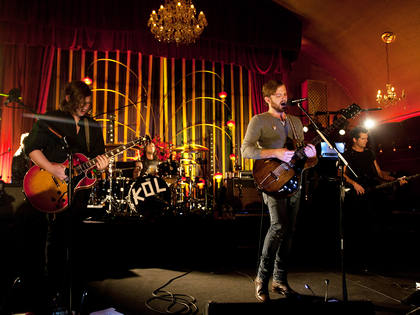 The kings of Leon at the Rivoli Ballroom
