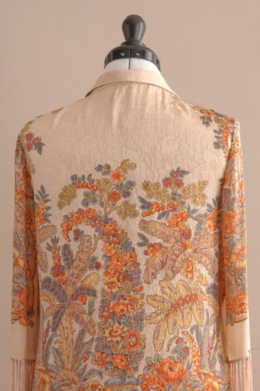 1920s chenille fringed jacket, skinny rich fairies
