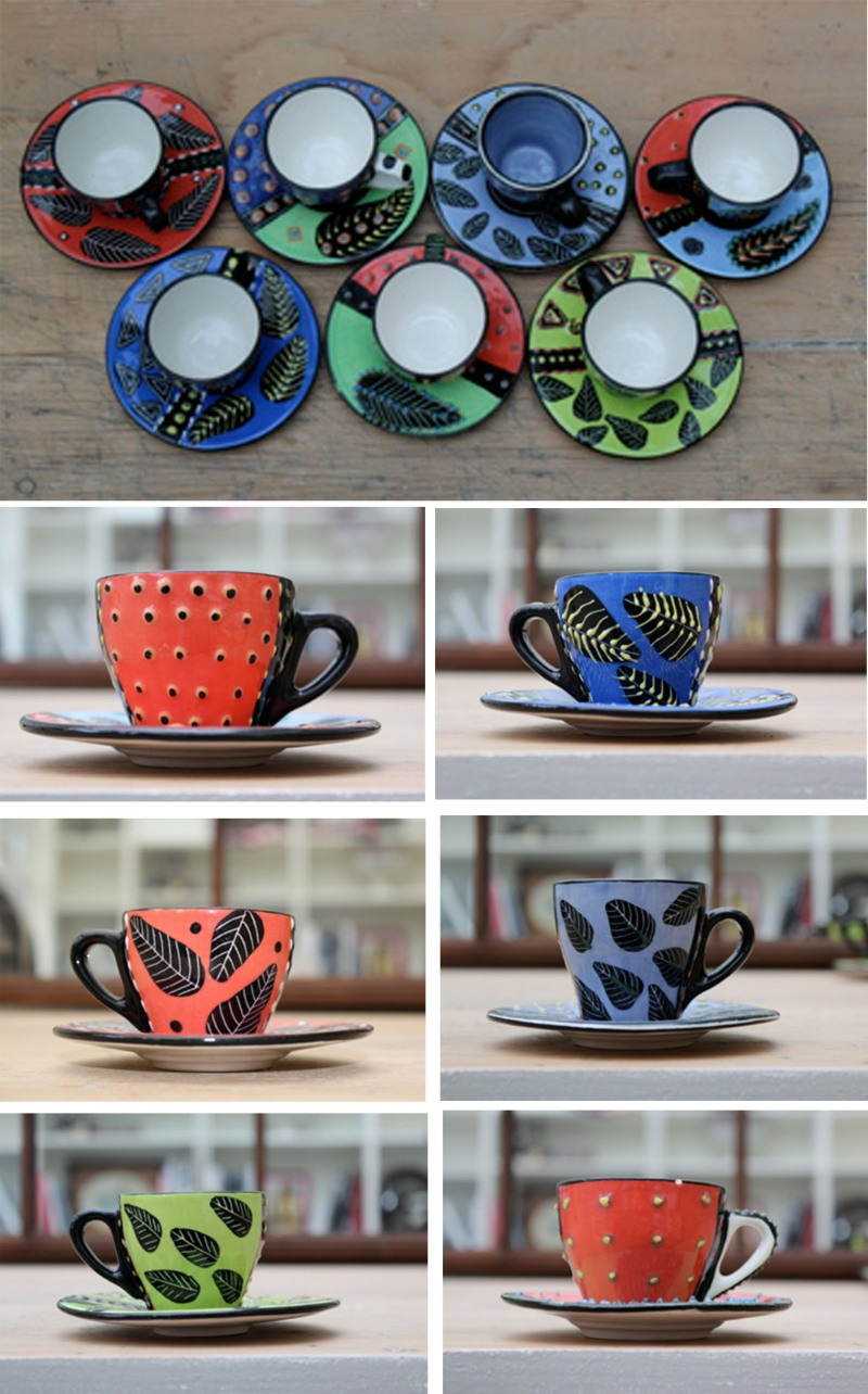 South African Teacups, design