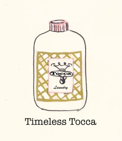 Tocca Laundry, Fashion Illustration, Carolyn Everitt